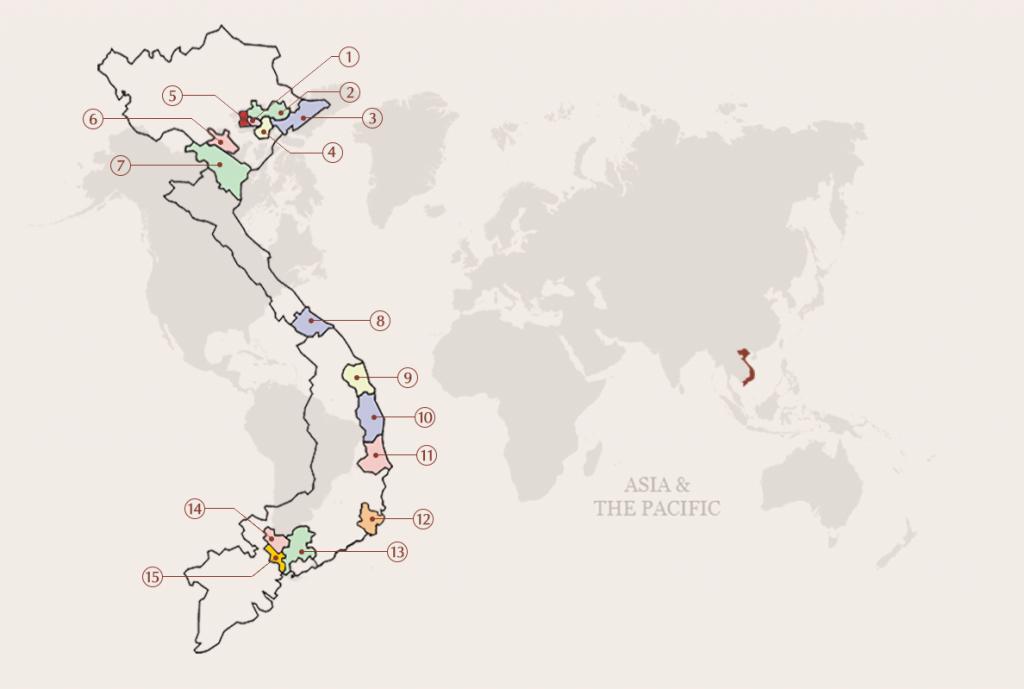 Bản đồ gốm Việt